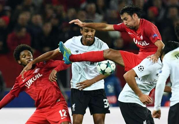 Spartaku ide loše u prvenstvu, ali je u Ligi prvaka osvojio bod protiv Liverpoola