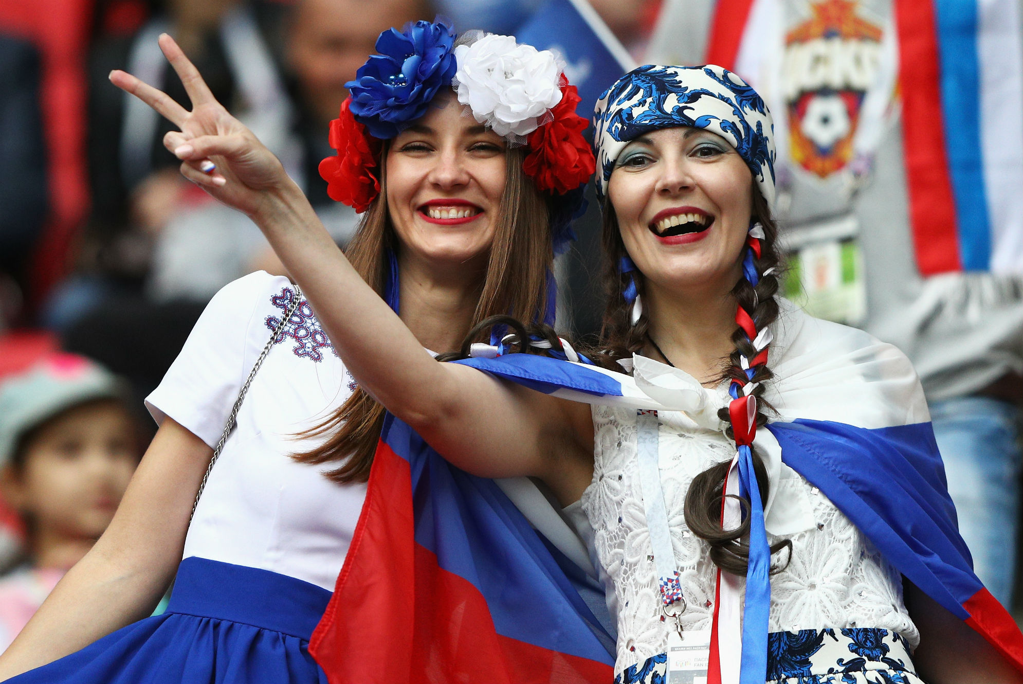 Russia fans Confederations Cup
