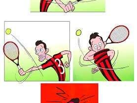 6-1 e 6-1, bastosta a tennis per Maldini: meglio rispondere col calcio...
