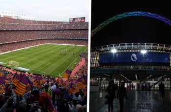 Wembley, Barcelona's Camp Nou & the biggest football stadiums in the world