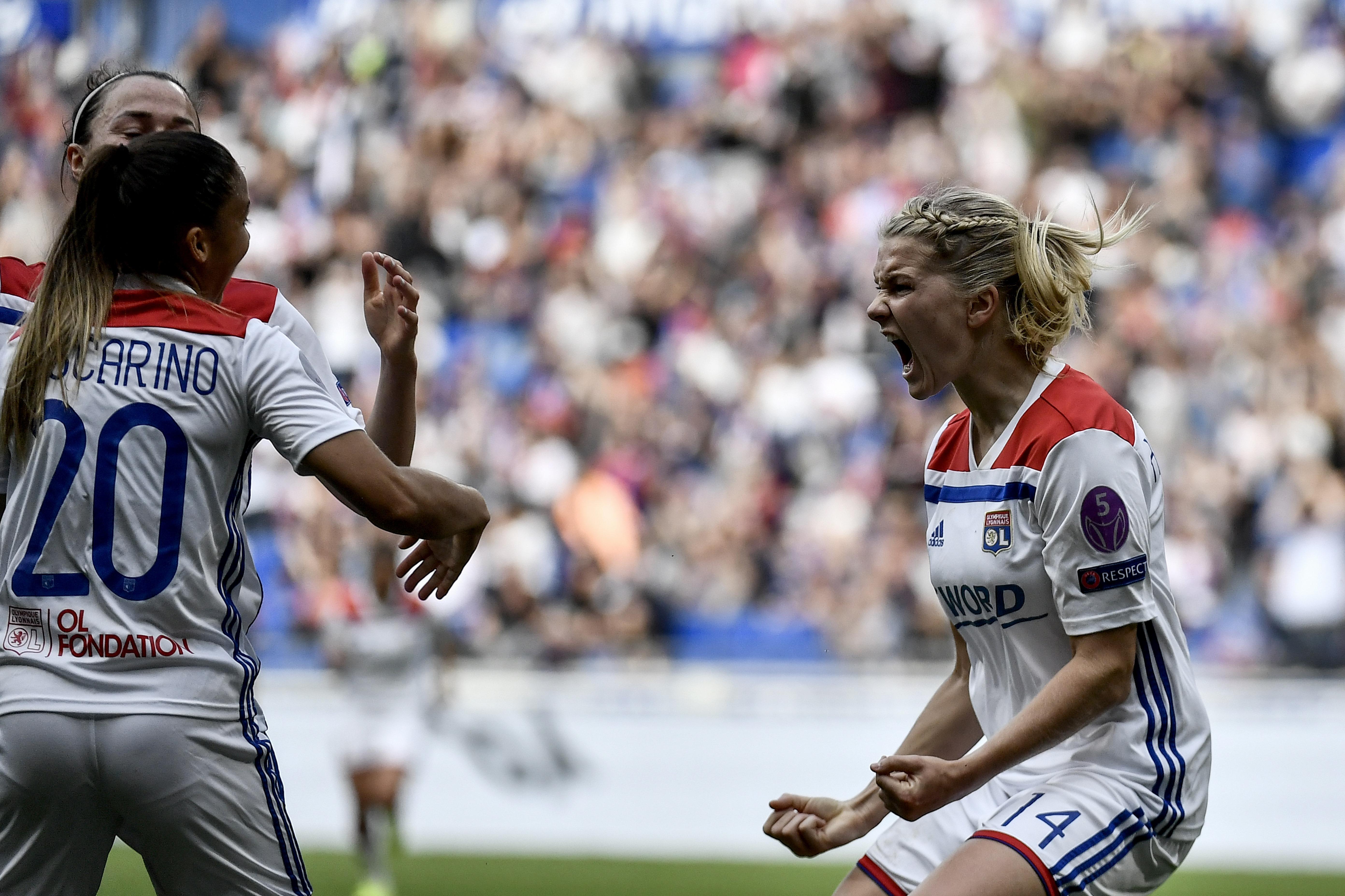 Féminine : l'OL fait tomber le PSG (1-0)