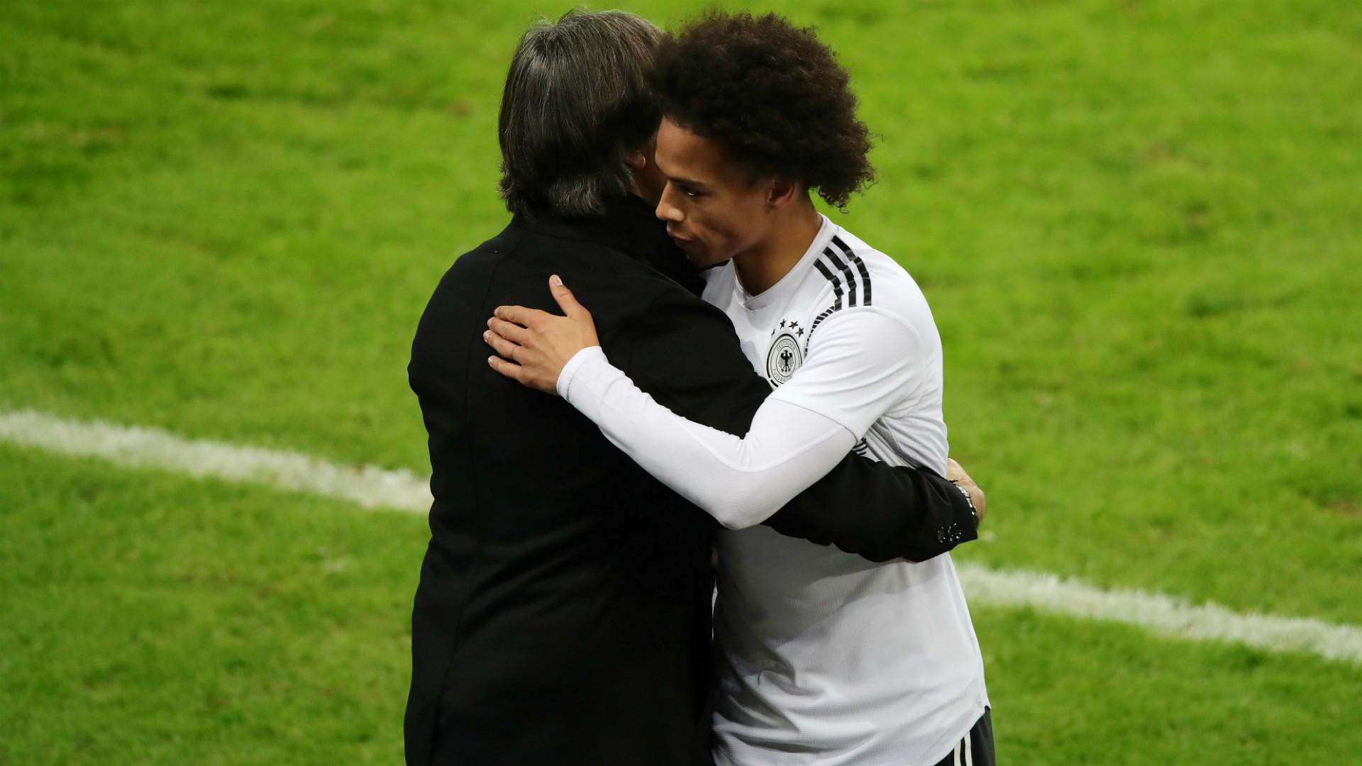 """Allemagne - Löw sur la blessure de Sané : """"C'était le pire moment possible dans sa situation"""""""