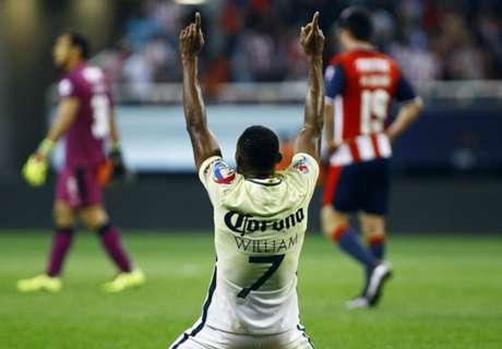 America, Necaxa in Liga MX semis