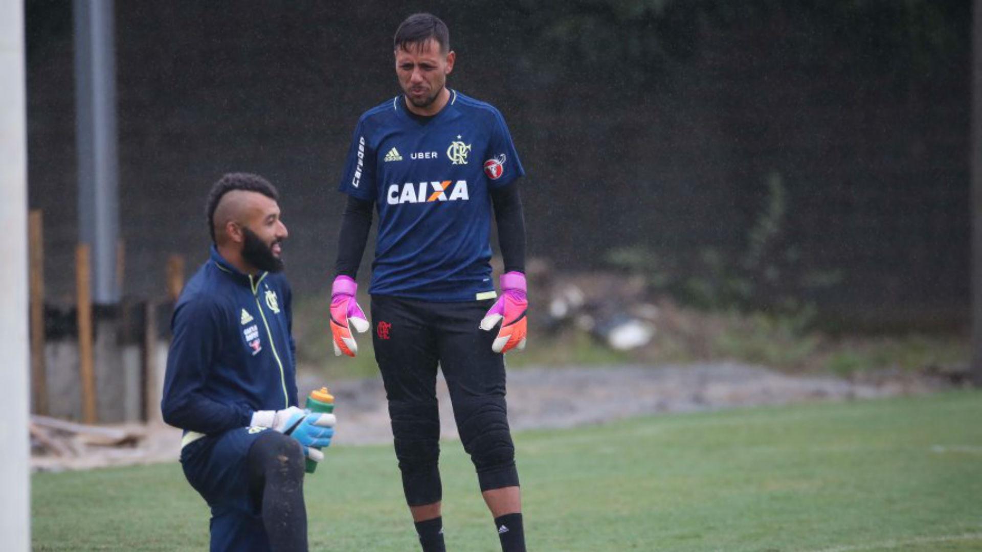 Diego Alves Muralha Flamengo treino 18 07 2017