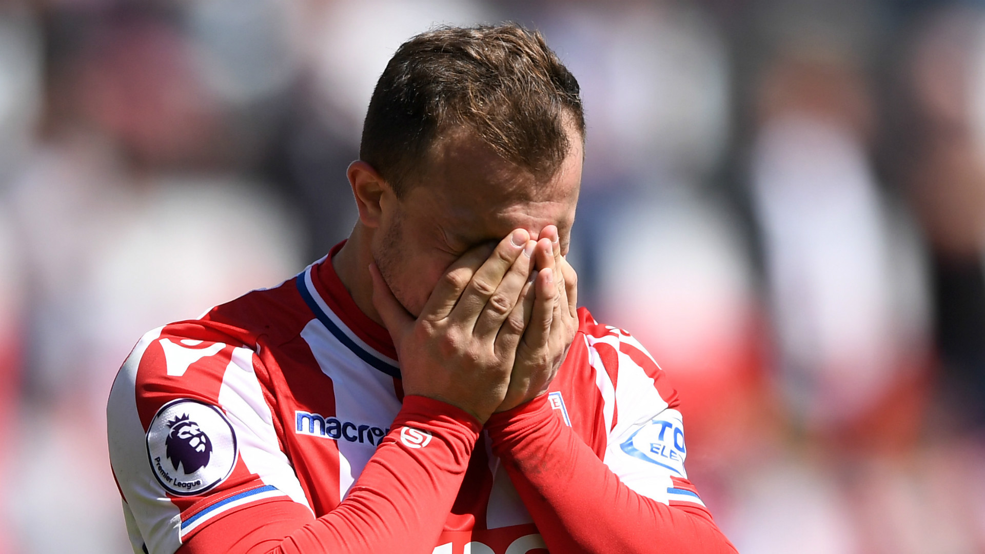 Stoke relegated from Premier League after Crystal Palace defeat