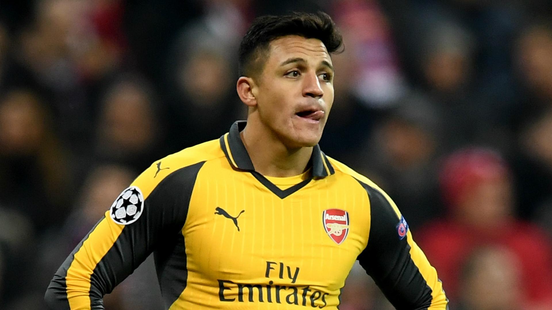 Alexis Sanchez Arsenal Bayern Munich