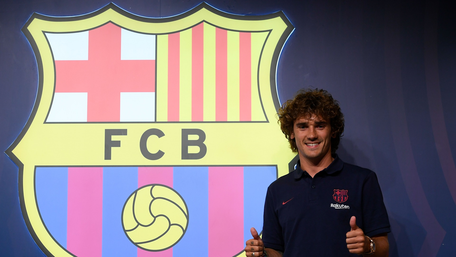 Griezmann handed No. 17 ahead of debut season with Barcelona