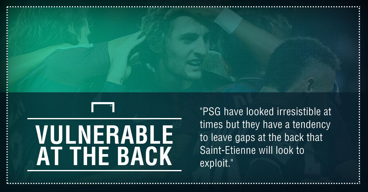 GFX PSG Saint-Etienne betting