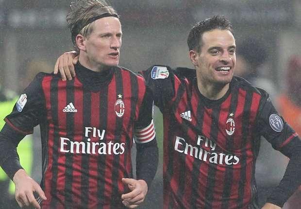 AC Milan 2-1 Torino: Belotti strike not enough as Rossoneri fight back for Coppa victory