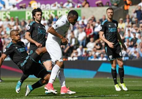 Jordan ends season with first Swansea goal