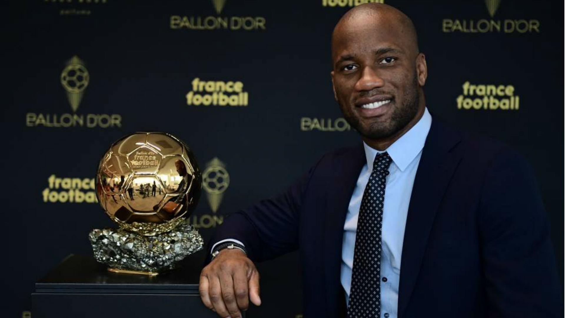 Ballon d'Or - Drogba dévoile sa petite préférence