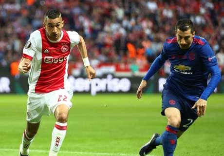 LIVE: Ajax vs Manchester United