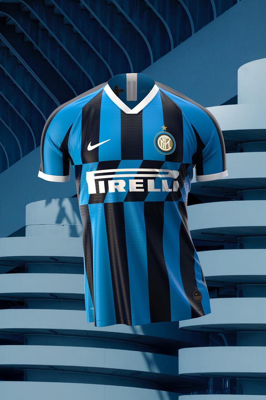 Officiel - L'Inter Milan dévoile son nouveau maillot domicile pour la saison 2019-2020