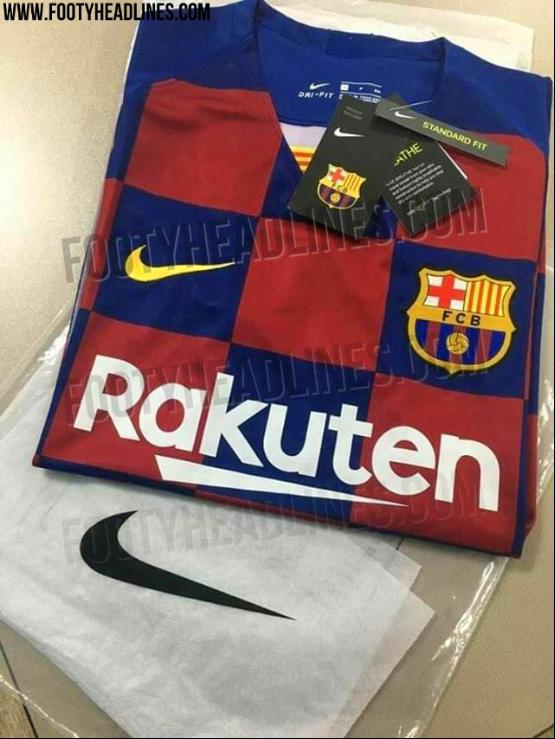 Barça, Real Madrid, Manchester United et les maillots 2019-2020 qui ont déjà filtré