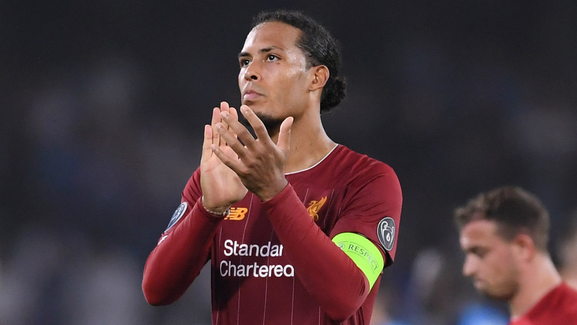 Van Dijk rubbishes contract speculation at Liverpool with 'nothing going on'