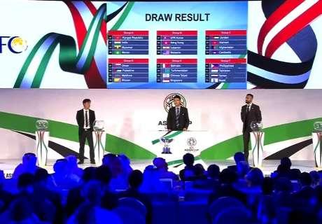 Hasil Undian Kualifikasi Piala Asia 2019