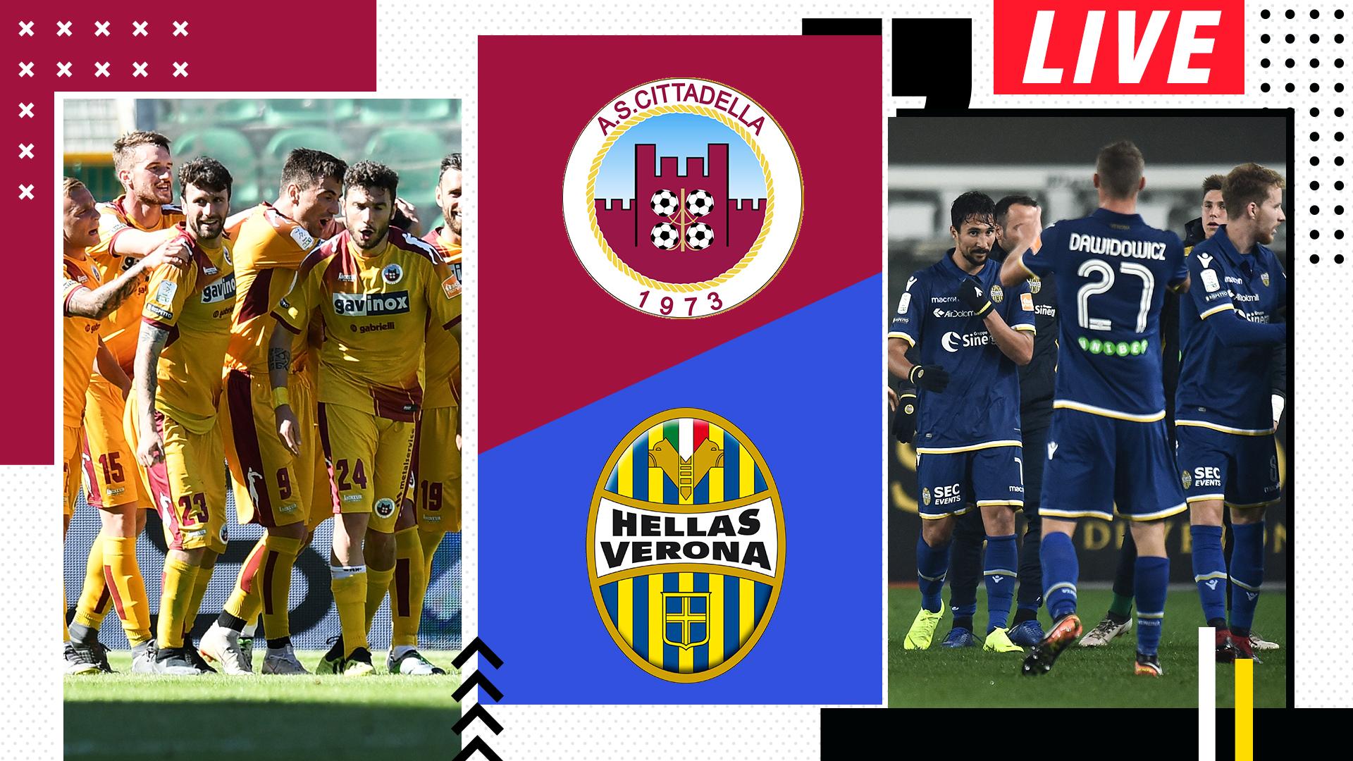 Diretta Cittadella Verona Live 2 0 Diaw Goal Com