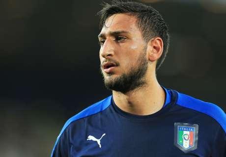 Donnarumma denies Milan questions