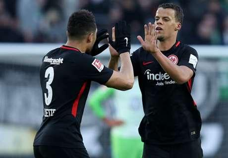 Sieg in Wolfsburg: SGE an Verfolgergruppe dran