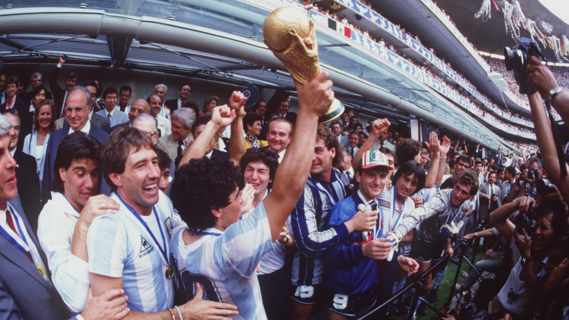 Diego Maradona Argentina World Cup