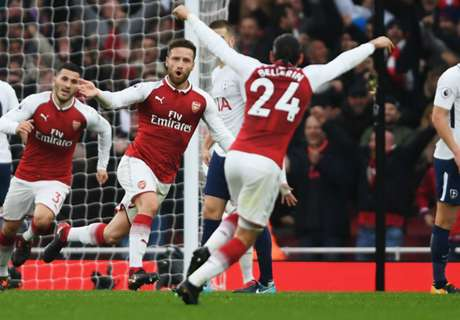 LIVE: Arsenal vs Tottenham
