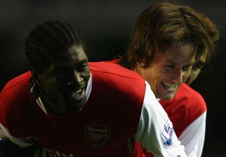 Adebayor Sentil Arsenal & Rosicky