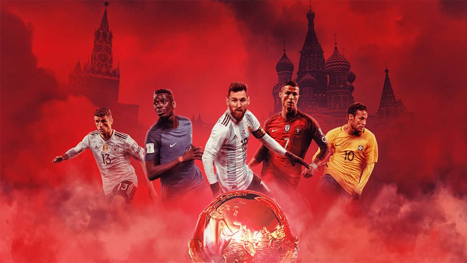 World Cup 2018 draw GFX