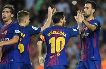 Barca off to winning Liga start