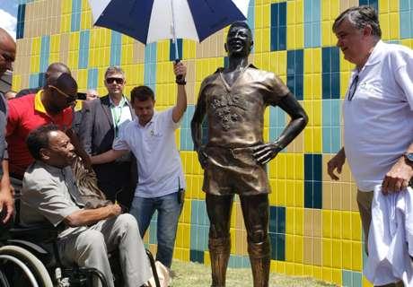 Pelé marca golaço em Resende, no Rio de Janeiro
