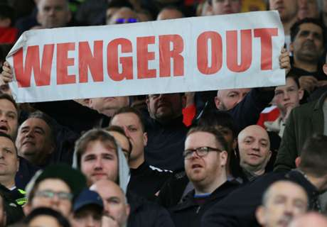 'Wenger Out' crusade goes global!