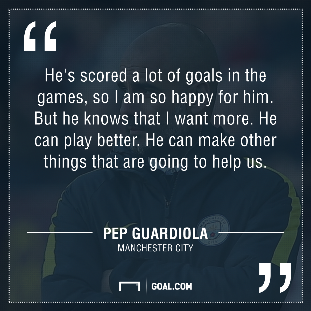 Guardiola quote GFX