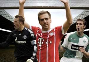 Seit 1960 wird jährlich ein Spieler zu Deutschlands Fußballer des Jahres gekürt - 2017 wurde es Philipp Lahm. Goal zeigt Euch alle Spieler seit 2000.