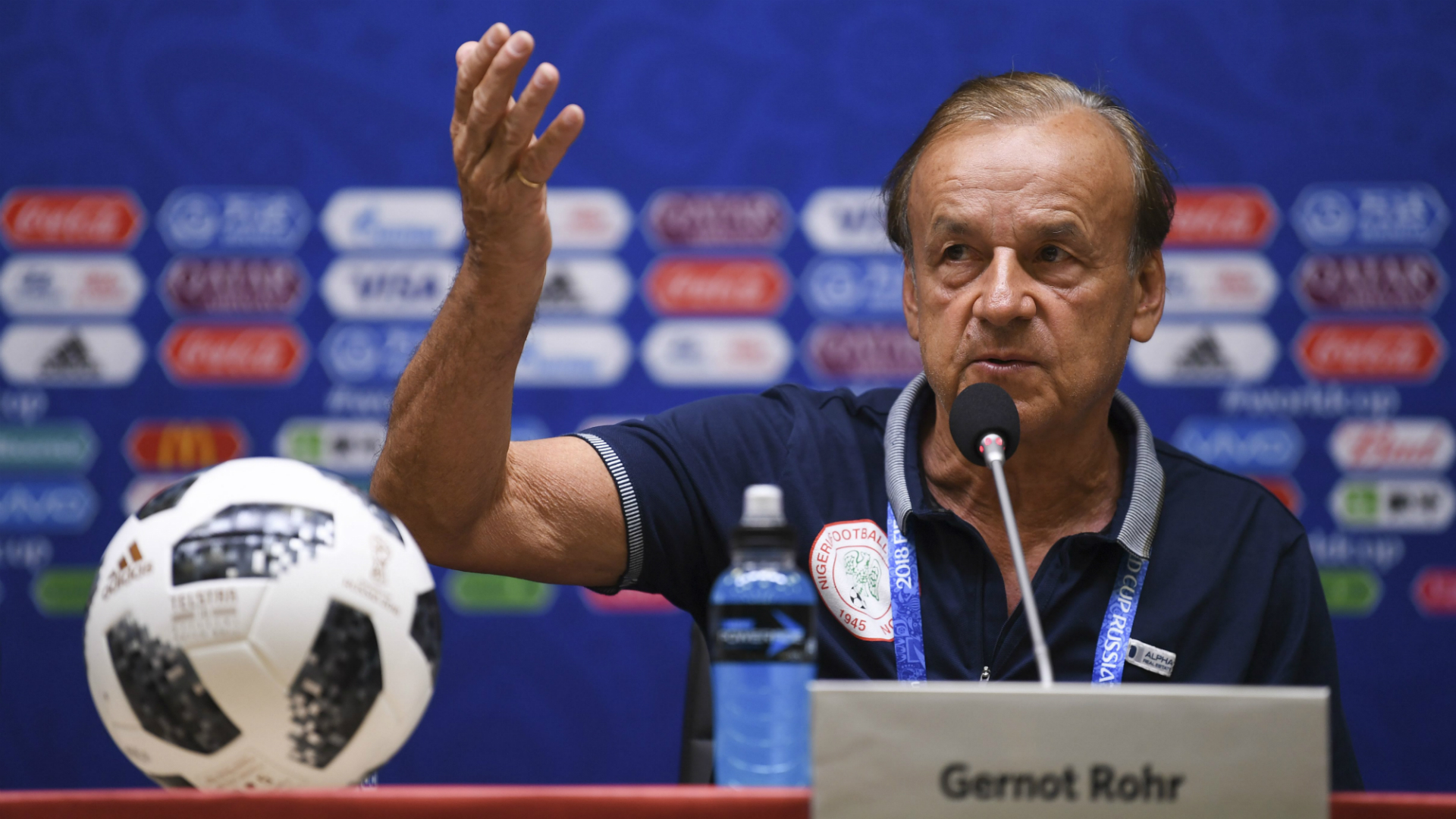 Afcon 2019: I know Super Eagles will rise to the occasion against Algeria - Rohr