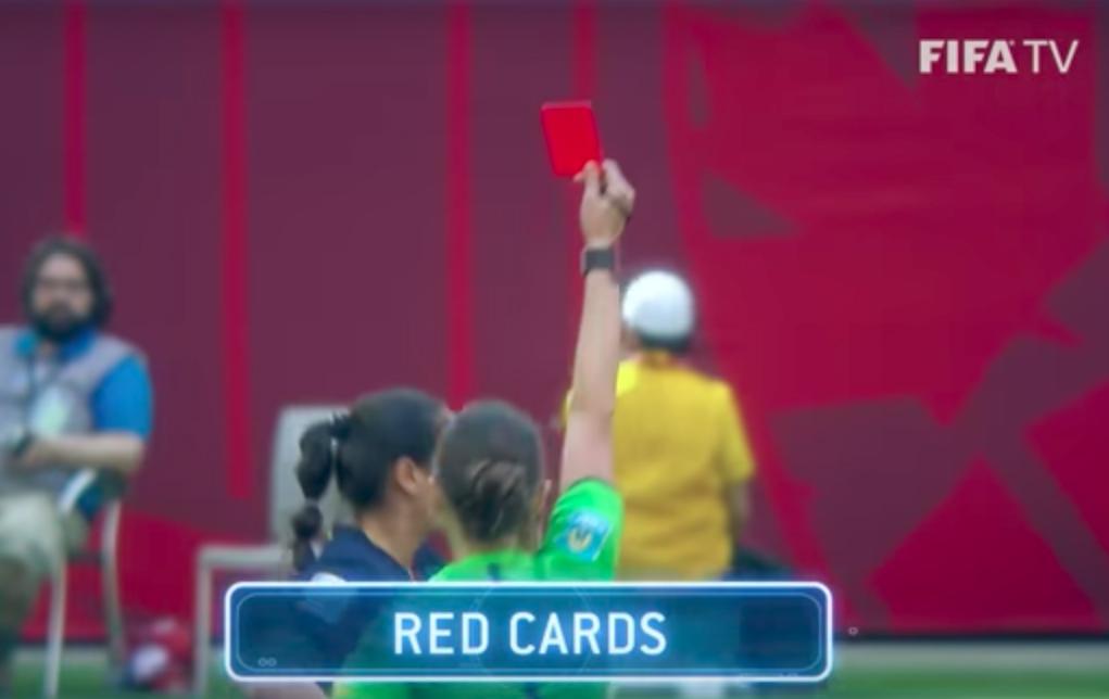 Tarjetas rojas