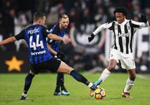 يحل الإنتر في صدارة الدوري الإيطالي، بعد التعادل يوفنتوس، فيما يأتي نابولي في المركز الثاني برصيد 39 نقطة، أما يوفنتوس ففي المركز الثالث بـ 38 نقطة.