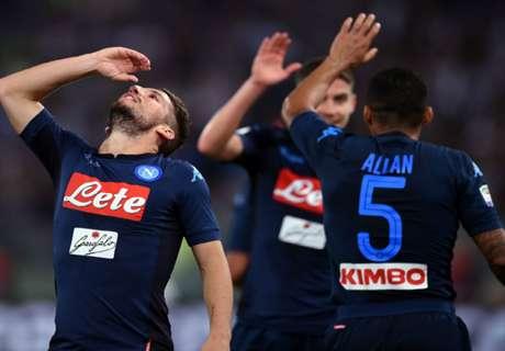 Italiano: Napoli e Juventus na liderança