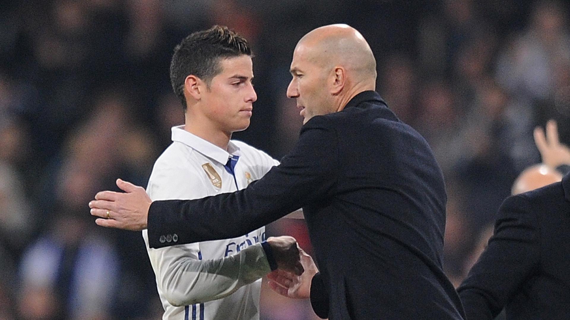 Real Madrid - James Rodriguez de retour à l'entraînement