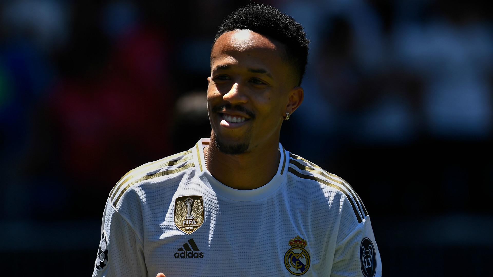 Real Madrid, Eder Militao sera titulaire face au PSG