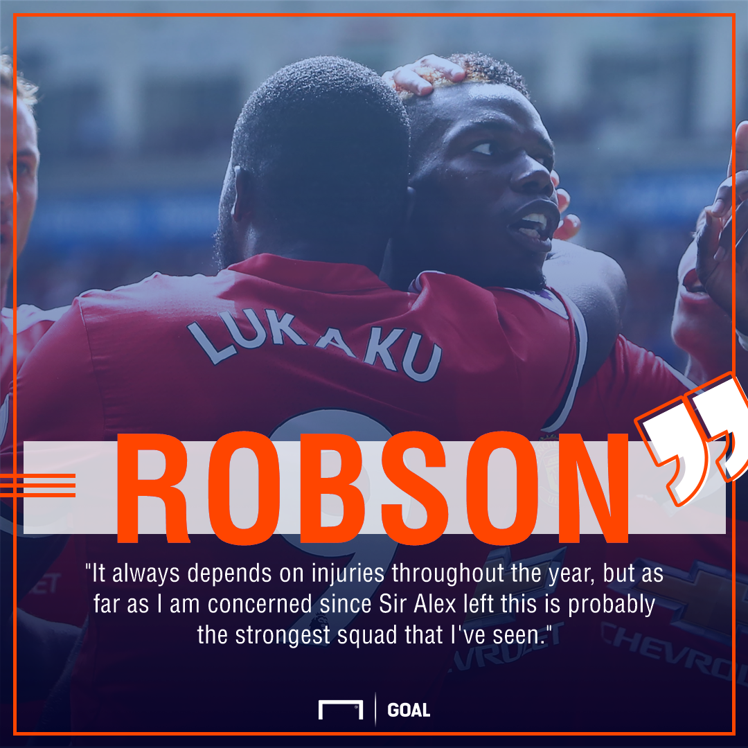Bryan Robson Manchester United best since Ferguson