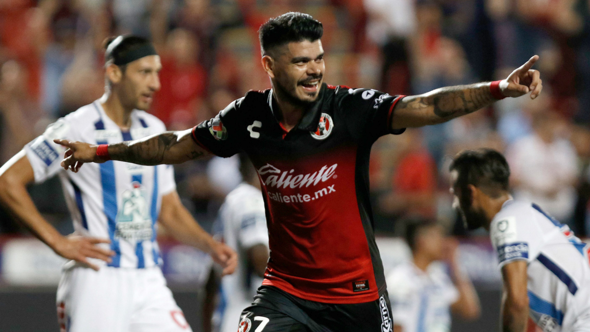 New England Revolution sign Argentine forward Gustavo Bou from Club Tijuana