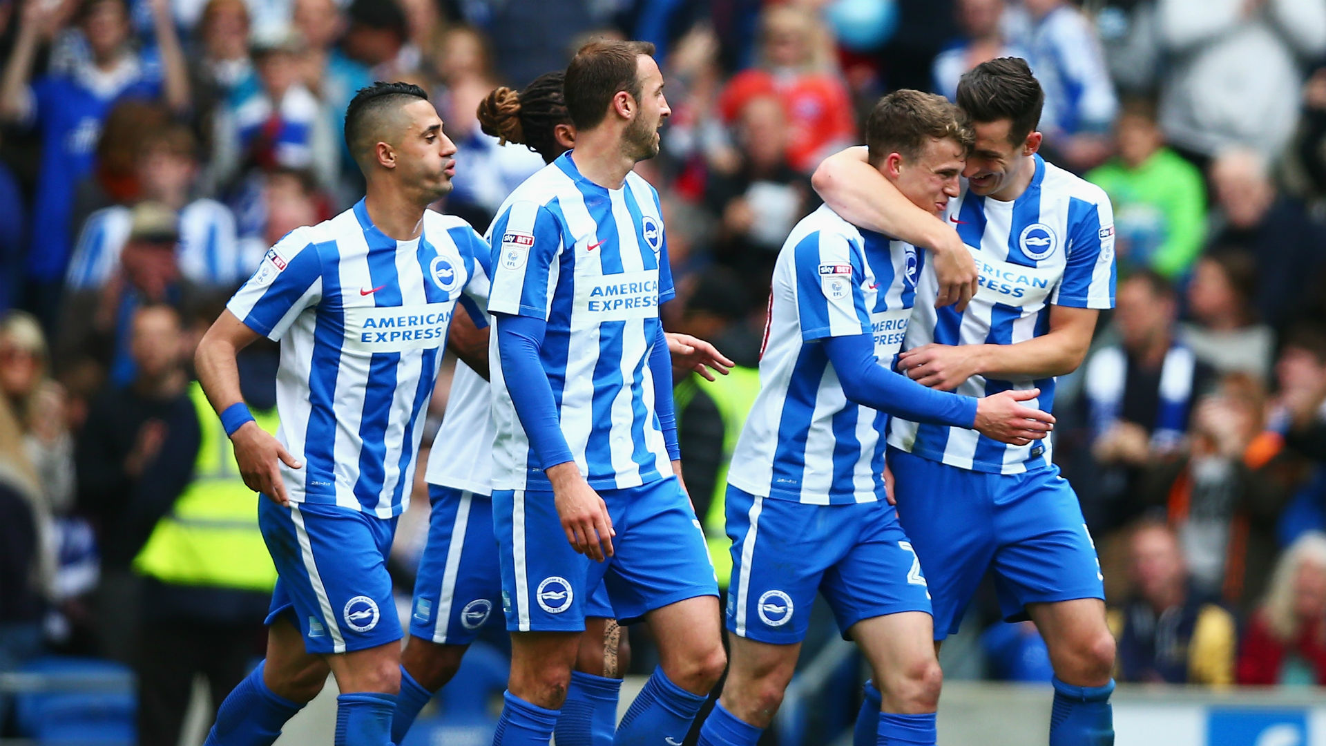 Brighton and Hove Albion promoted to Premier League