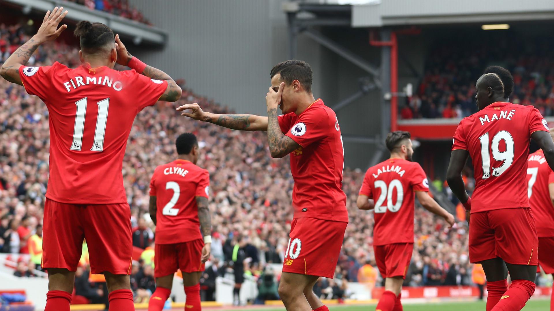 HD Liverpool Firmino Coutinho Lallana Mane