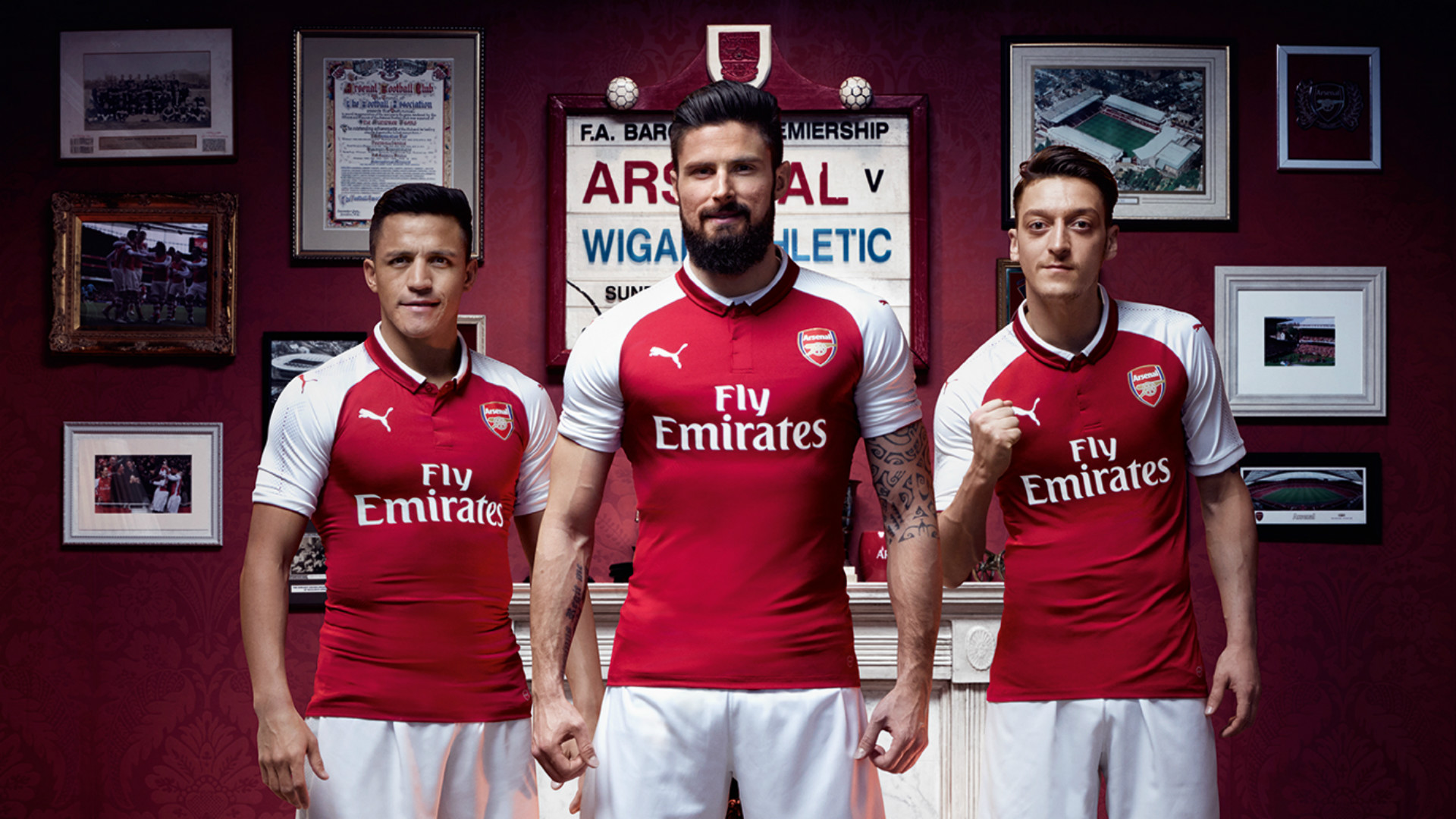 Arsenal Home Kit 2017-18