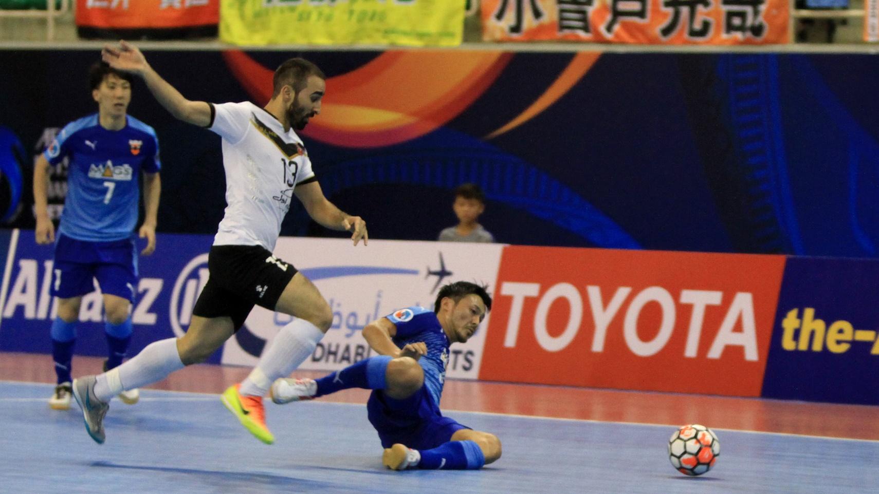2017 AFC Futsal Club Championship   Shriker Osaka vs Sanaye Giti Pasand