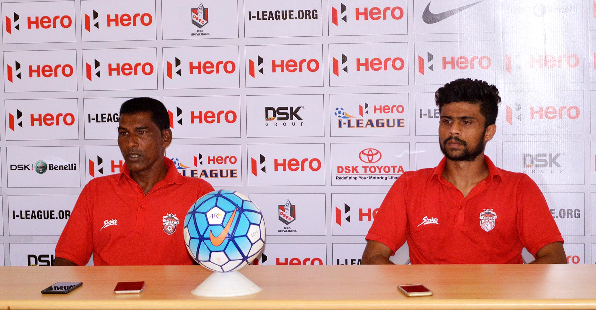 Alfred Fernandes Keenan Almeida DSK Shivajians Churchill Brothers I-League 2017