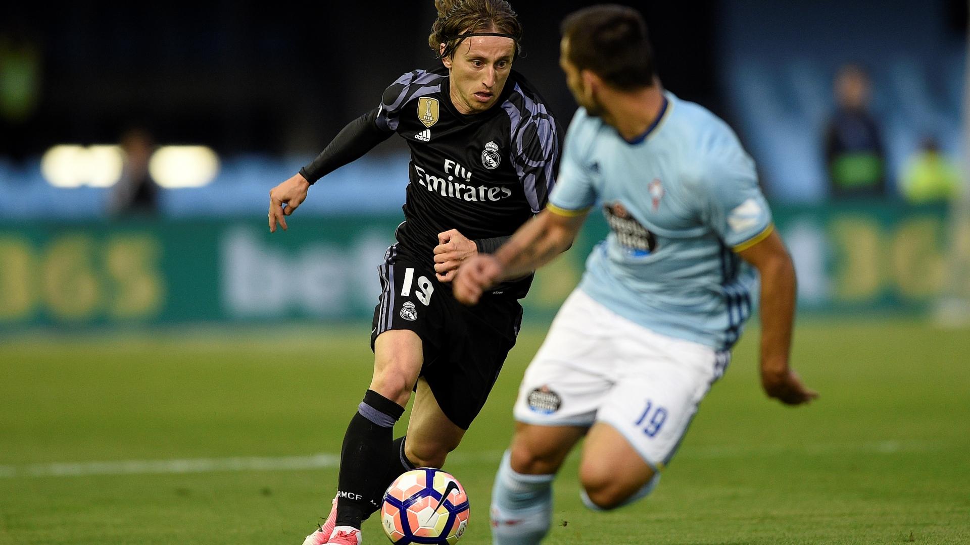 Luka Modric Real Madrid Celta LaLiga 17052017