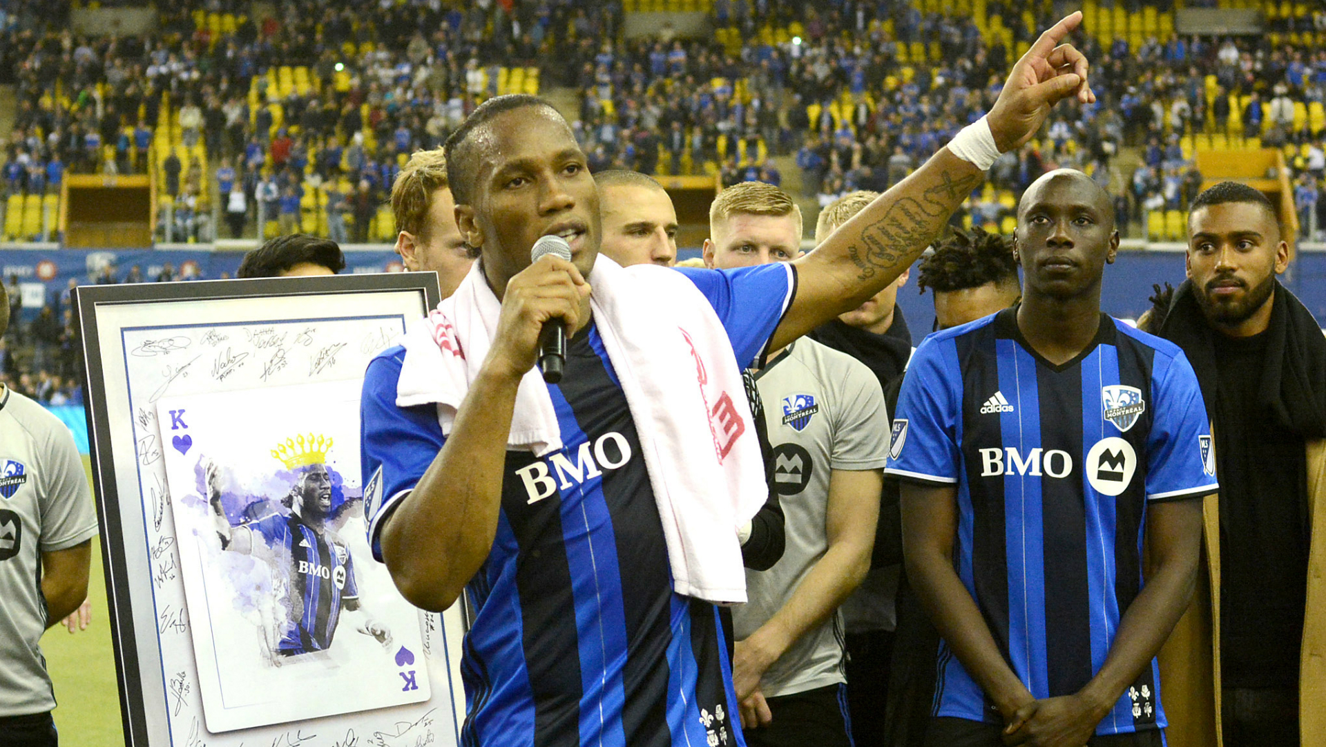 Didier Drogba Montreal Impact MLS 11222016