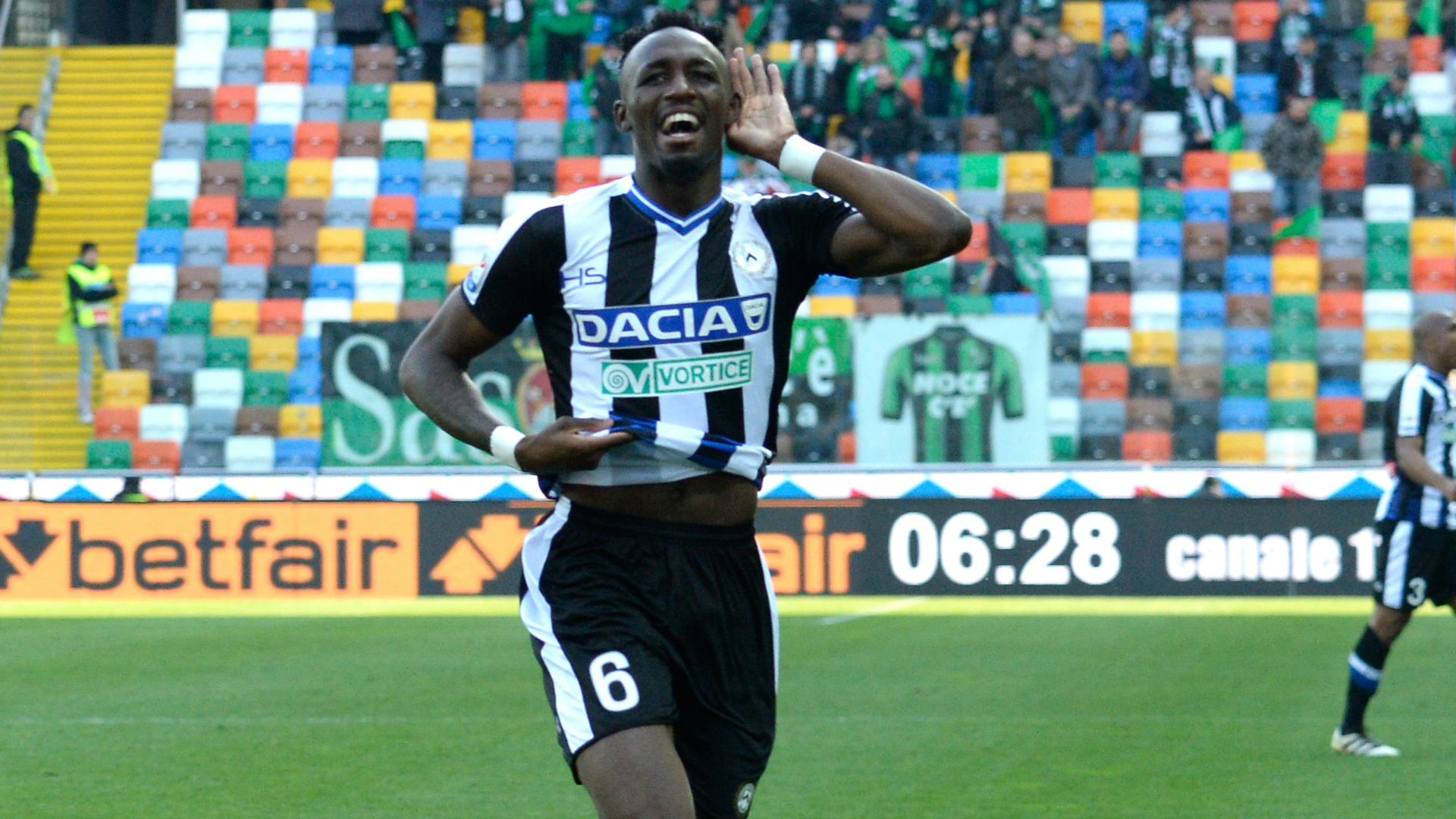 Udinese, frattura perone per Fofana