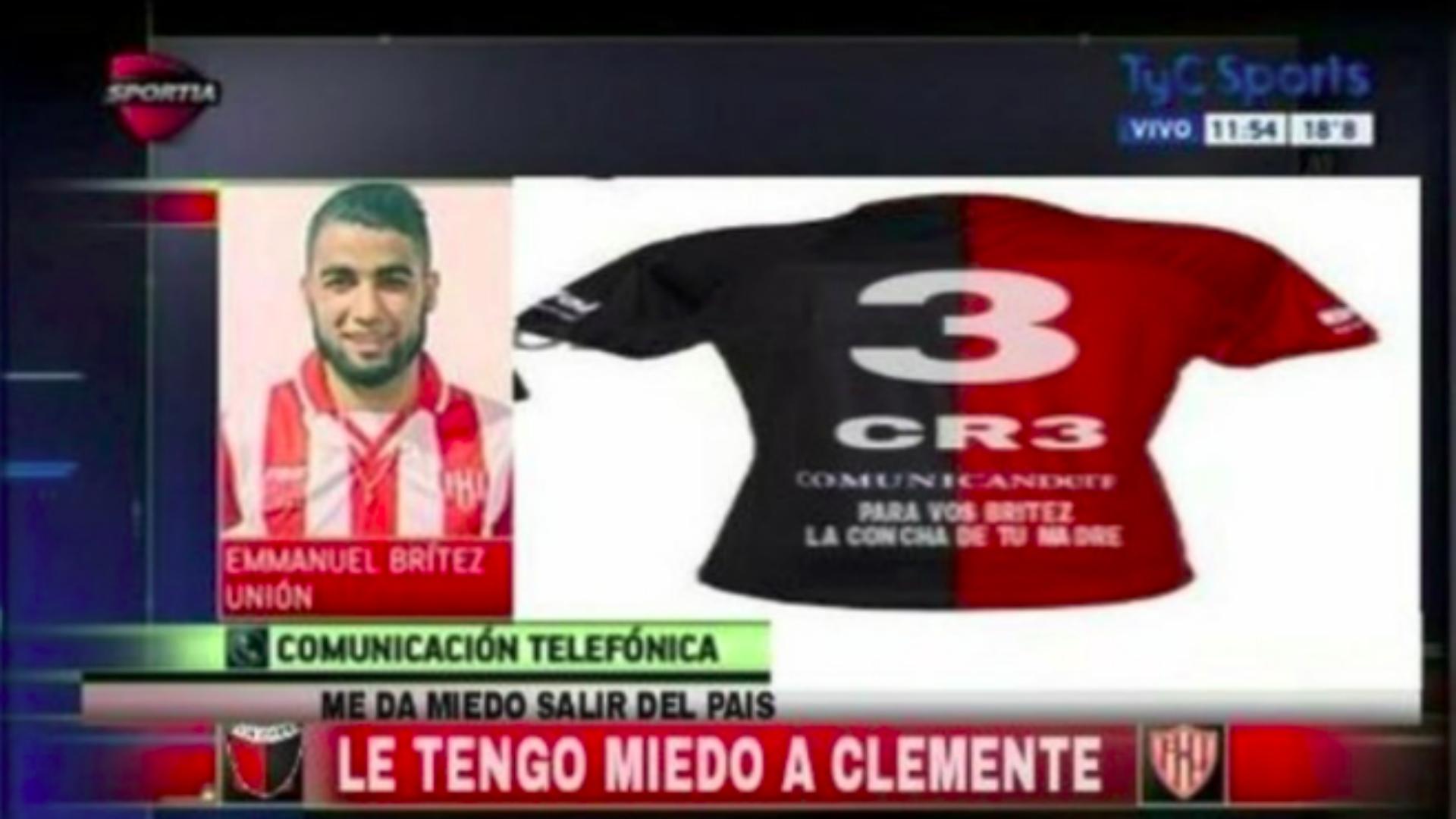 Escándalo en Santa Fe por un video de Clemente a Brítez