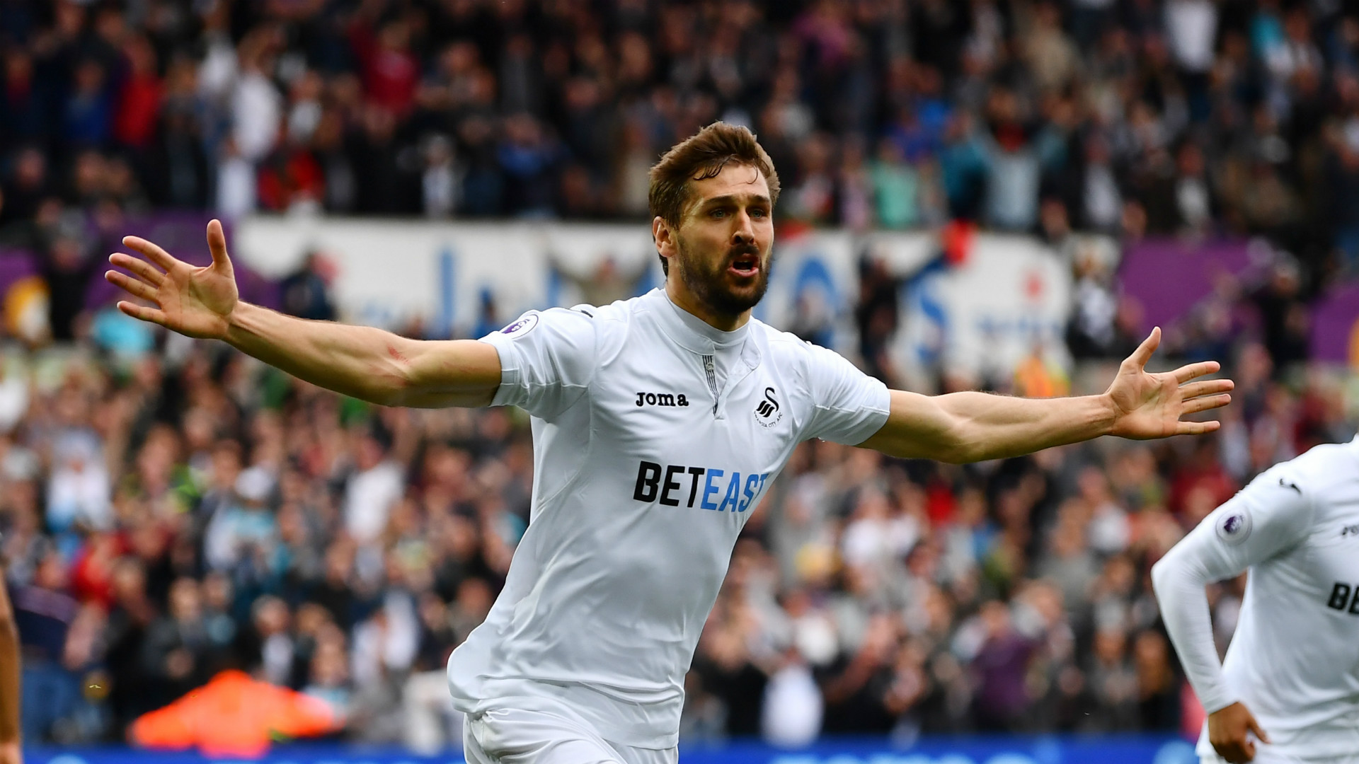 Fernando Llorente Swansea City Premier League